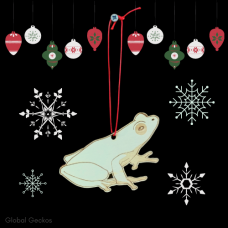 Christmas Decorations - Tree Frog