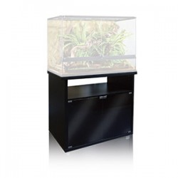 Terrarium Cabinet Black - 90cm