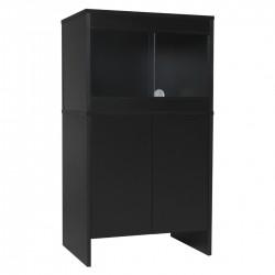 Melamine Cabinet BLACK - fits 24 x 18