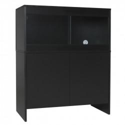 Melamine Cabinet BLACK - fits 36 x 18