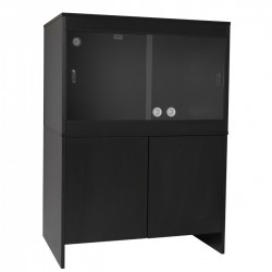 Melamine Cabinet BLACK - fits 36 x 24