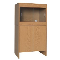 Melamine Cabinet OAK to fit 24 x 18