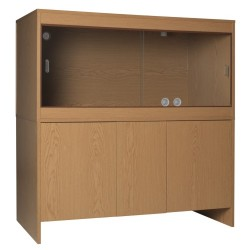 Melamine Cabinet OAK to fit 48 x 24