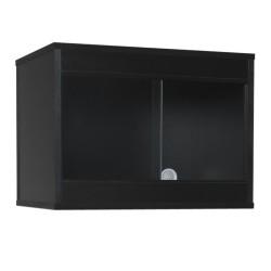 Melamine Vivarium BLACK 24 x 18 x 18