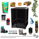 Crested Gecko Complete Kit - Habistat (Ceramic Heat)